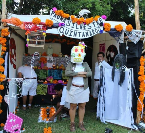 Day of the Dead in Xcaret