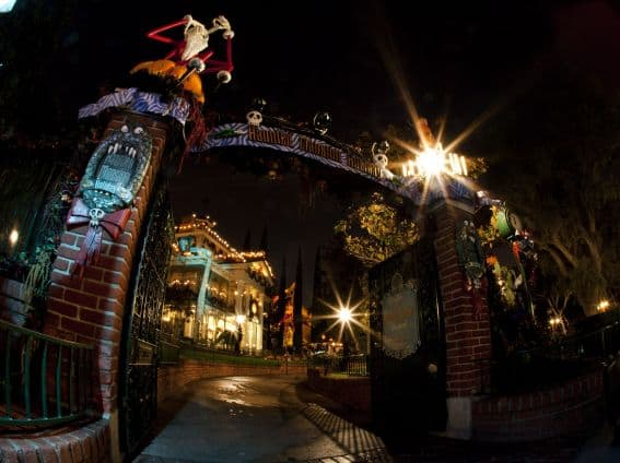 Disney Halloween Time: The Haunted Mansion gets a Halloween at Disneyland makeover with the addition of Jack Skellington