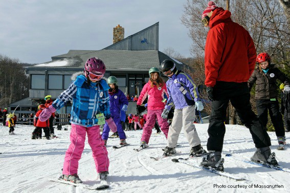family friendly skiing Virginia, West Virginia, North Carolina