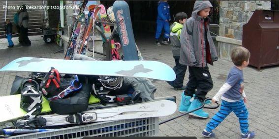 multigenerational skiing