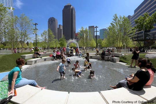 Top 10 Things to Do with Families in Texas Dallas CVB- Klyde Warren Park Photo Courtesy of Dallas CVB