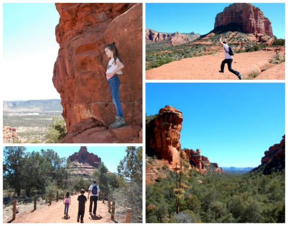 sedona kid friendly hiking