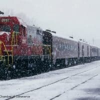 Blue Ridge snow train christmas atlanta