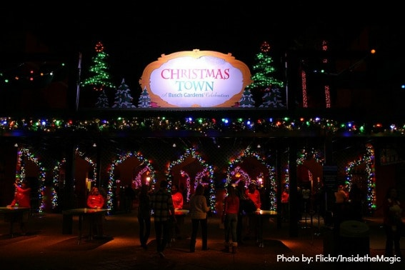 Top holiday and christmas events in tampa bay for families - Busch gardens tampa christmas town ...