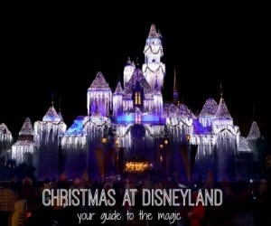 Christmas at Disneyland Guide to the Magic2
