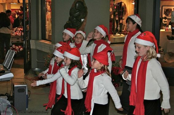 Christmas events in Northern California Headlsburg