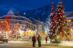 Whistler Village, B.C. Holidays