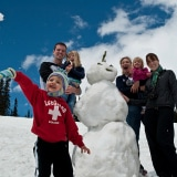 Snowman Surviving Holiday Road Trips with kids