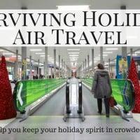 Surviving Holiday air travel