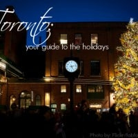Toronto Christmas and HOliday activities