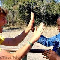 Volunteer Steve Safari