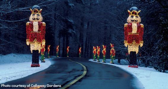 Christmas around Atlanta