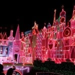 it's a small world disneyland christmas