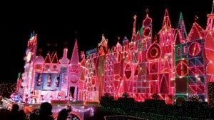 it's a small world disneyland christmas