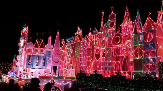 its a small world disneyland christmas