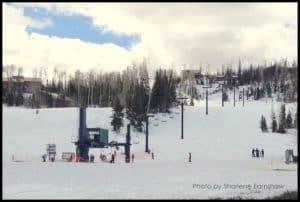 Brian-head skiing