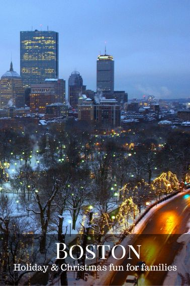 Boston's Holiday Season | Christmas and NYE Events