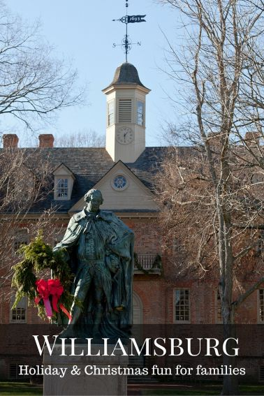 Christmas and Holiday fun for families in Colonial Williamsburg