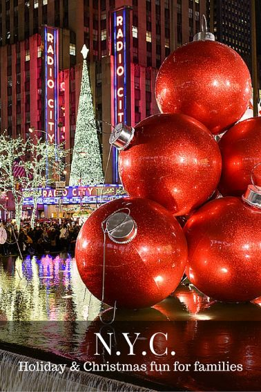 Holiday events in new york city for families the best for Fun shows to see in nyc