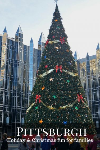 Christmas and Holiday fun for families in Pittsburgh