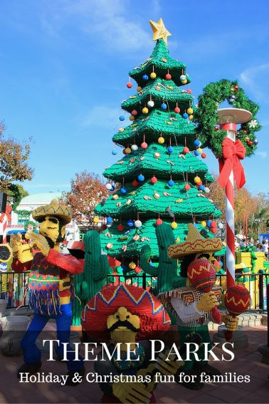 Christmas-and-Holiday-fun-for-families-Theme Parks