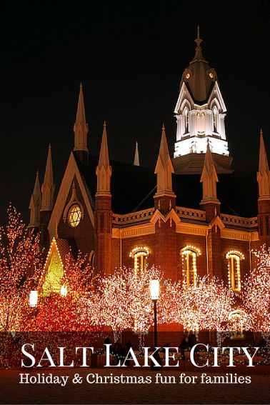 Christmas and Holiday fun in Salt Lake City