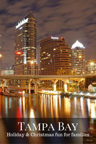 Christmas and Holiday fun for families in Tampa Bay, Florida