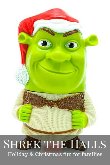 Christmas and Holiday fun for families with Shrek
