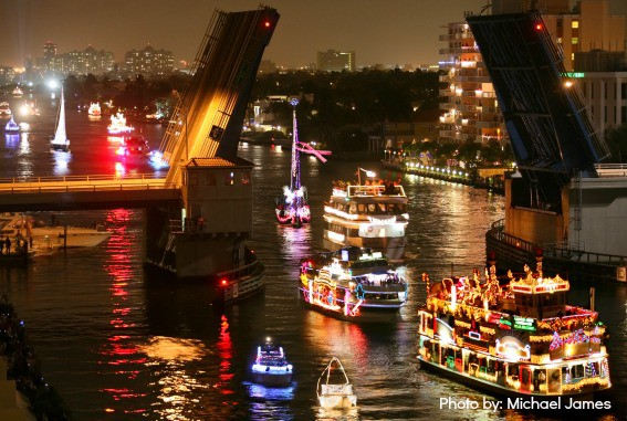 Seminole Hard Rock Casino Boat Parade in South Florida