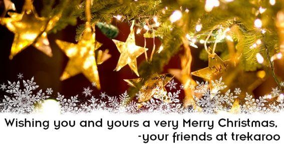 Merry Christmas from Trekaroo