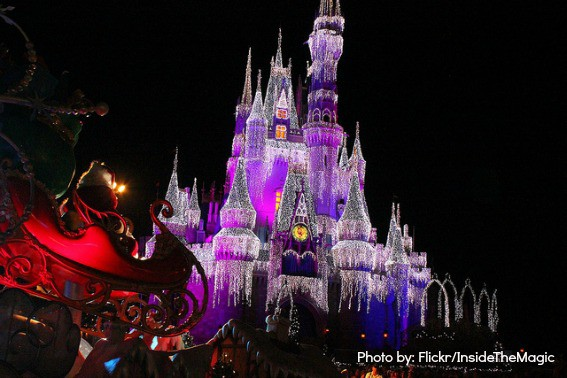 Mickey's Very Merry Christmas Party at Disney World Magic Kingdom Orlando