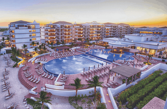 Photo Courtesy Grand Residences Riviera Cancun