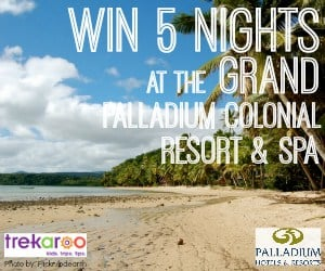 win five nights at Grand Palladium Colonial Resort