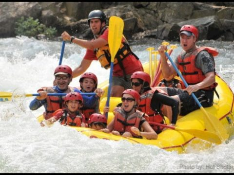 River Rafting with Kids on the American River