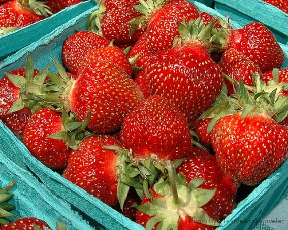 Weekend Getaways in Wisconsin Cedarburg Strawberry