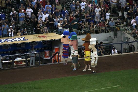 Miller Park Family Milwaukee Baseball