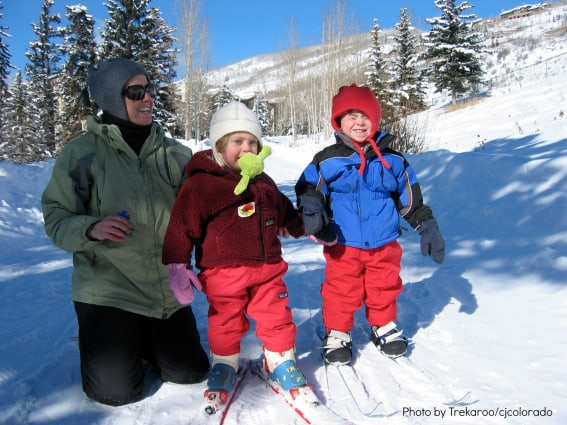 Kid-Friendly Safe Snow Play Skiing