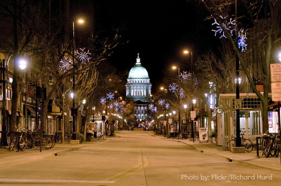 Weekend Getaways in Wisconsin Madison State Capitol