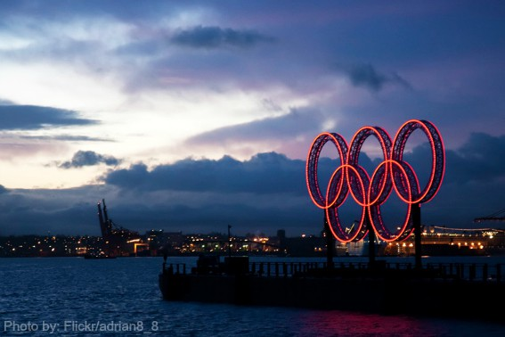 Winter Olympics- Vancouver Rings