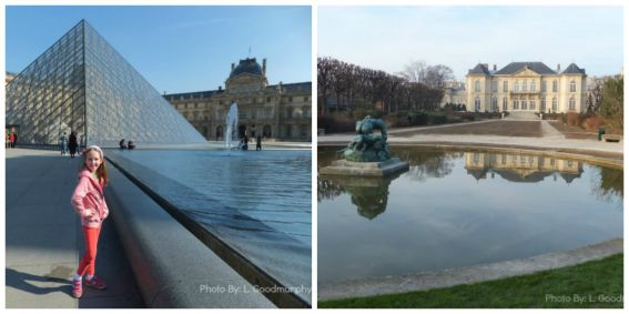Paris with kids itinerary include museums-louvre-rodin-museums