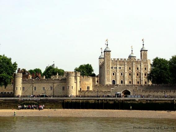 The Tower of London- Photo Credit C. Laroye