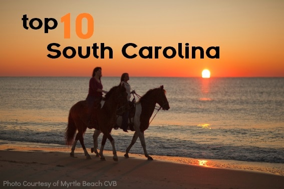 Top 10 Things for Families to do in South-Carolina