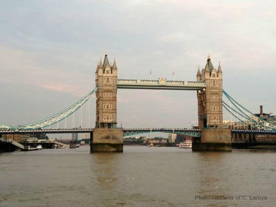 Tower Bridget in London Photo Credit by C Laroye