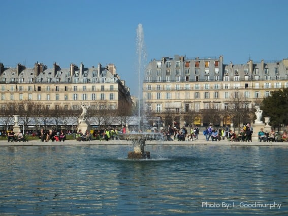 Paris with kids itinerary and the Tuileries Gardens