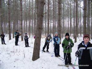 Cross Country Skiing: Audubon Center of the Northwoods Winter fun