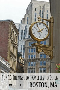 top 10 things to do in Boston with Kids
