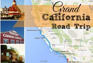 Grand California Family Road Trip with Kids