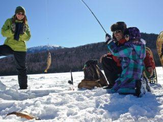 Winter Activities in Michigan: Ice fishing