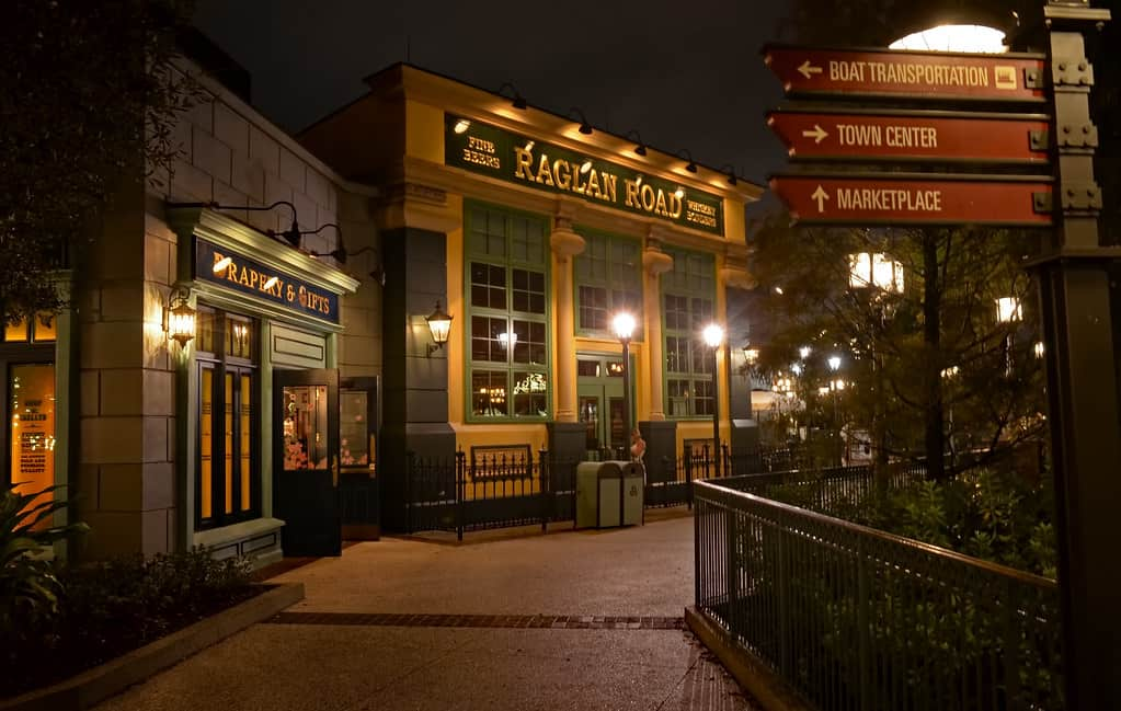 raglan road disney photo