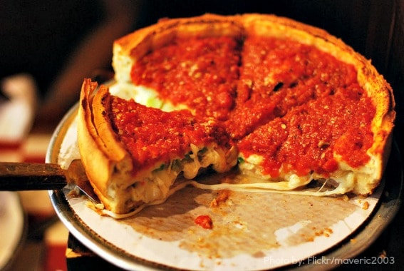 Top Ten Chicago Deep Dish Pizza